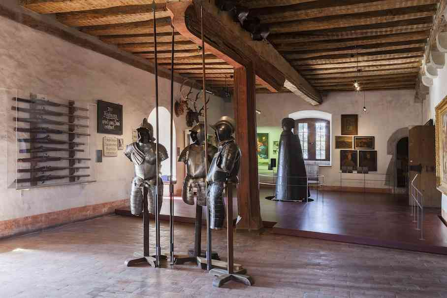 Museum Scholss Kyburg is a wonderful place to visit with kids in Zurich