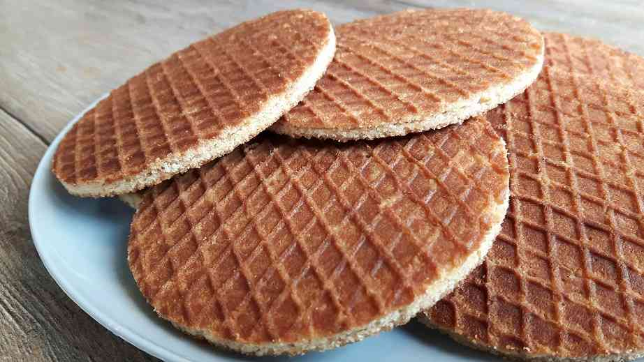 Stroopwaffels are Amsterdam's staple