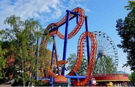 Linnanmaki Amusement Park is always a good idea to visit with kids