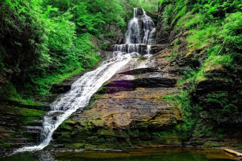 The Delaware Water Gap is one of the best places to visit during COVID