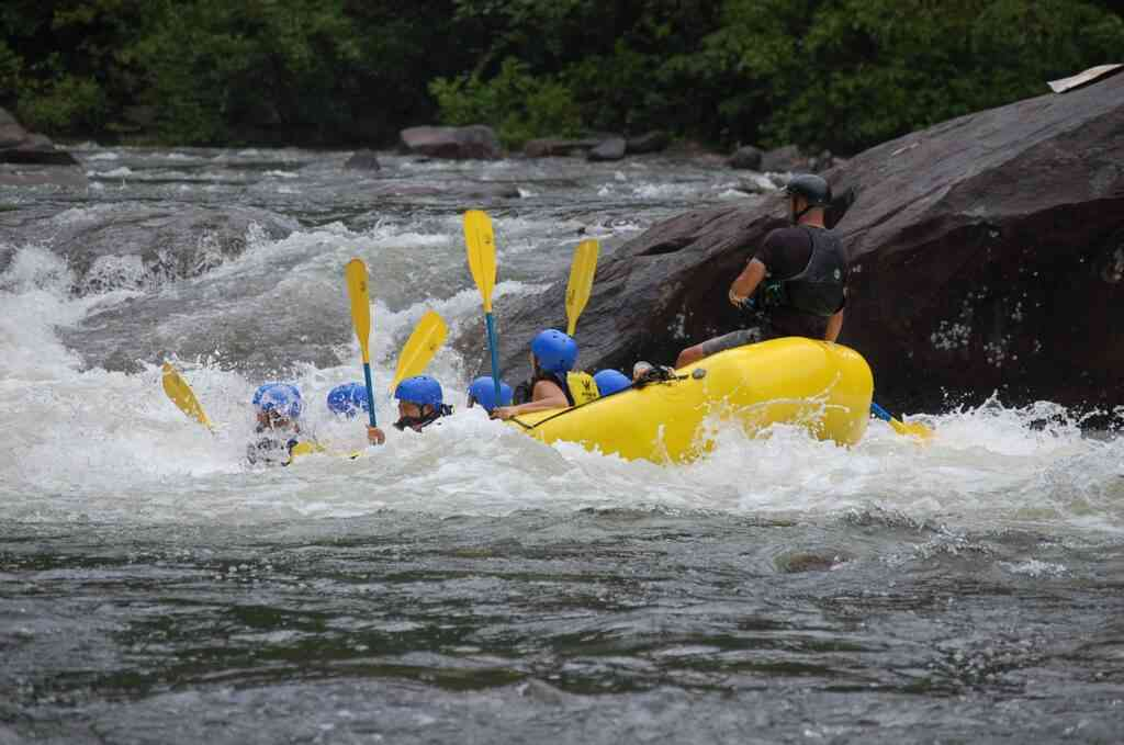 whitewater rafting is one of thebest higns to do wiring COVID