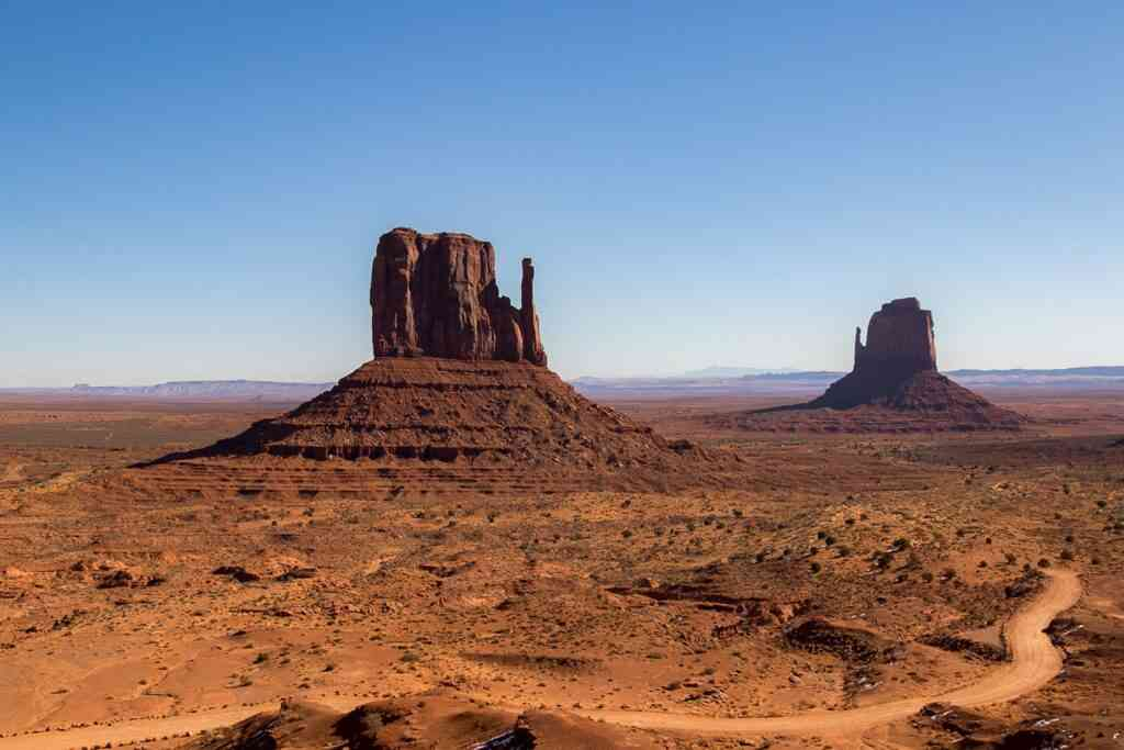 Monument Valley is one of the best places to visit during COVID