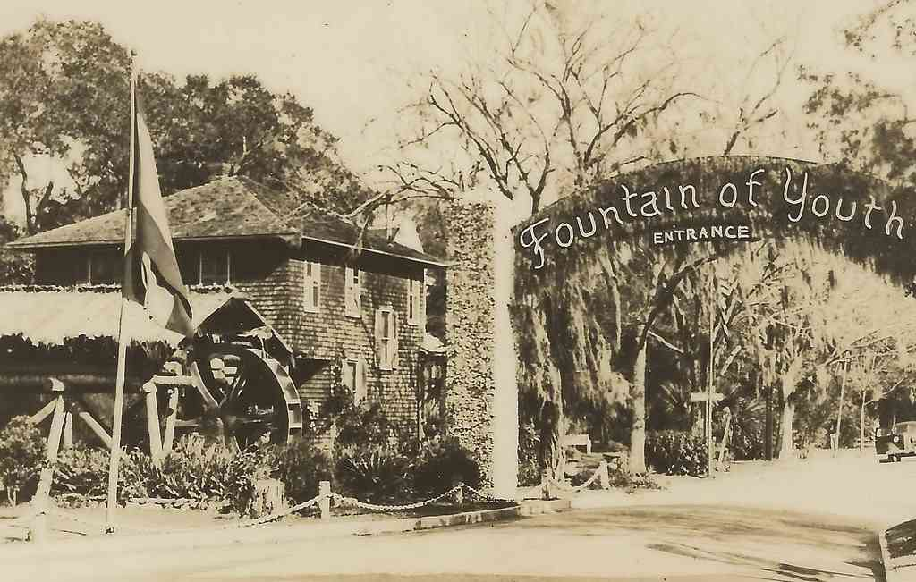 The fountain of youth is one of the mot iconic places to visit in St. Augustine with kids
