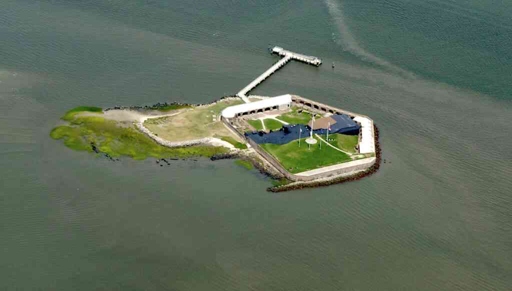 Fort Sumpter is one of the best things to do in Charleston with kids