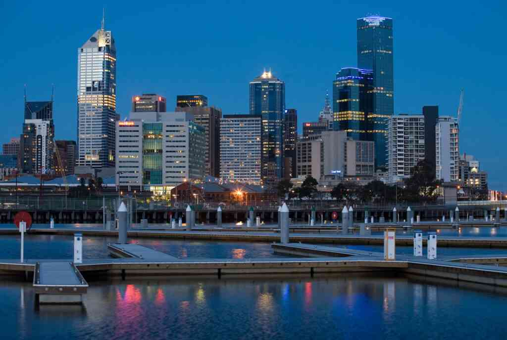 The Docklands is one of the best places to stay in Melbourne with kids