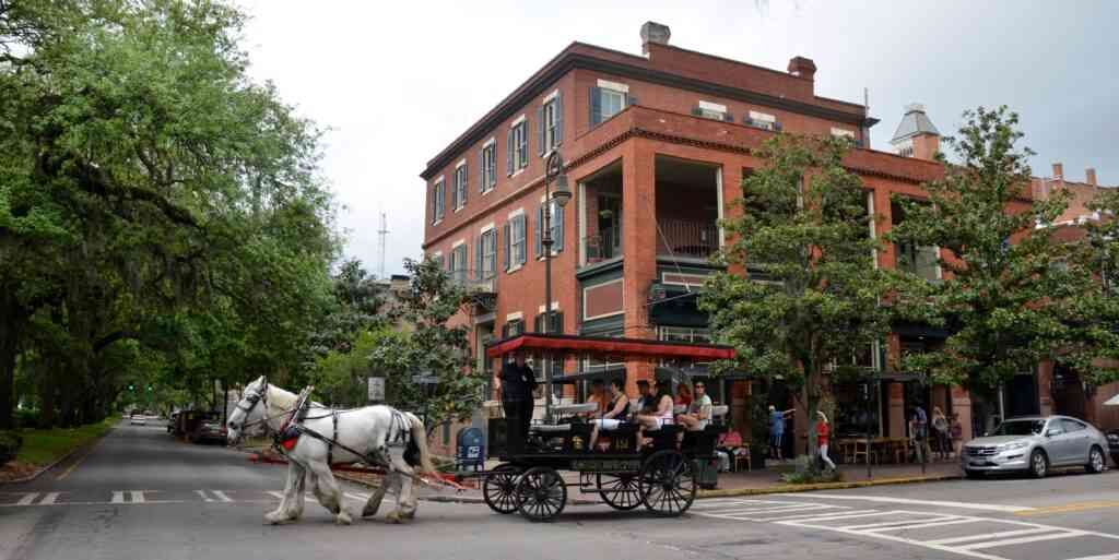 Midtown is one of the best areas to stay in Savannah with kids