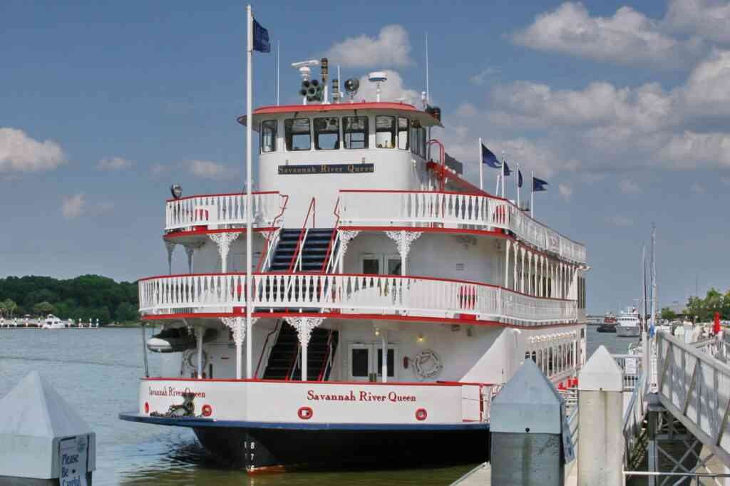 The riverboat cruise is one of the best things to do in Charleston with kids