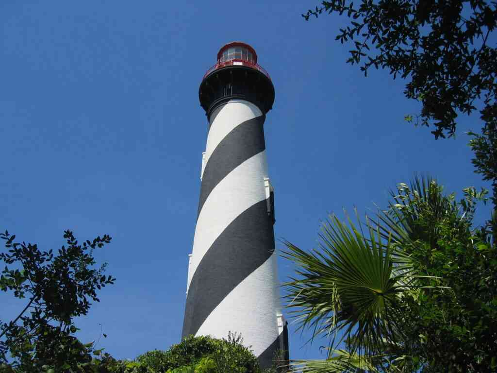 The St. Augustine Lighthouse is one of the best places to see in St Augustine with kids