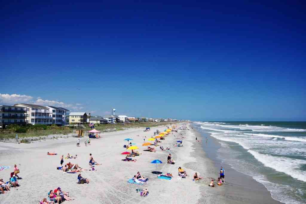 The beaches around Charleston are one of the best places to go to with kids