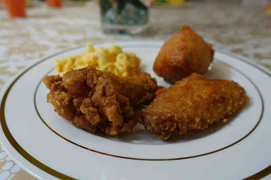 Fried chicken is one of the best things to eat in Charleston with kids