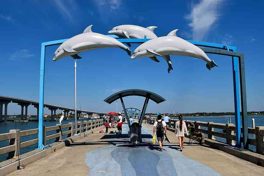 vilano beach is one of the best areas to stay in St. Augustine with kids
