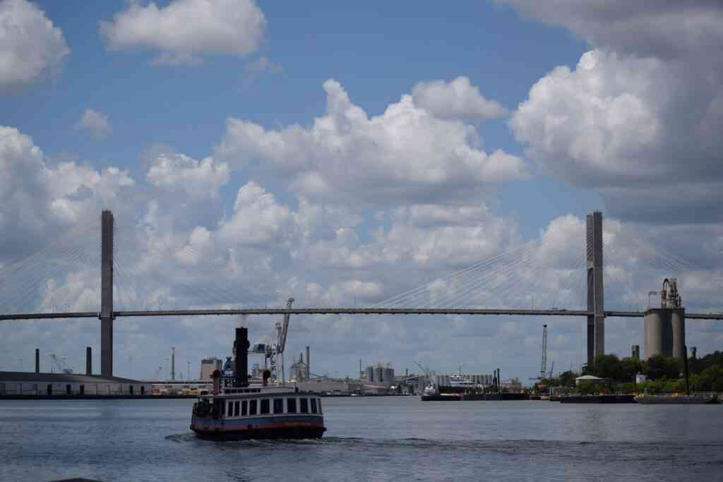 The waterfront is one of the bestplaces to visit in Savannah with kids