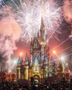 Disney castle Paris - Best Place to Spend New Years Eve with Kids