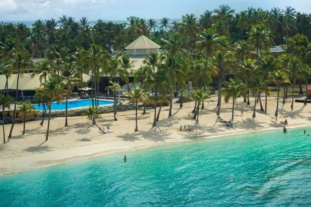 Best Caribbean Resorts for families, Club Med Caravelle, Guadeloupe