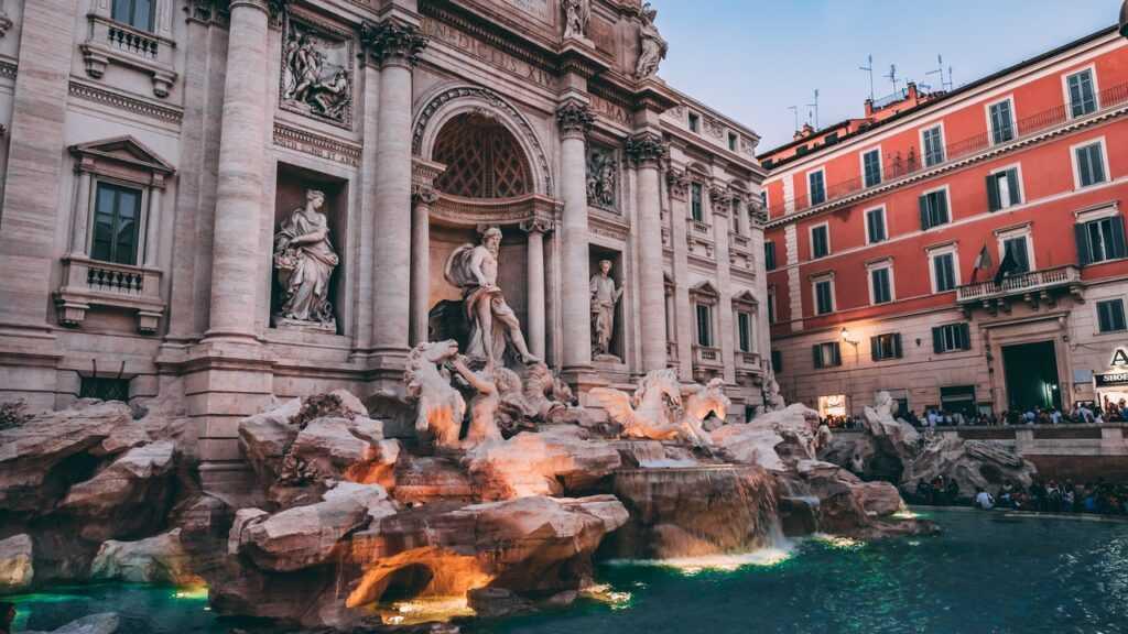 Trevi Fountain Spanish Steps