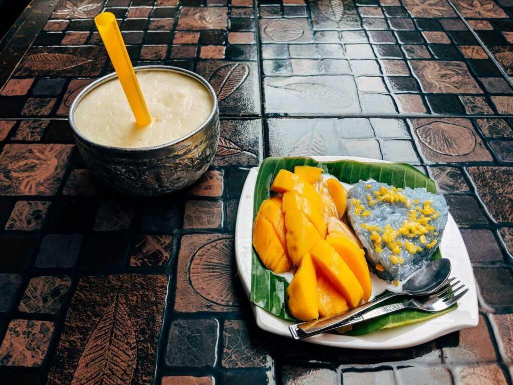 Kao Niew Ma Muang (Mango and Sticky Rice)